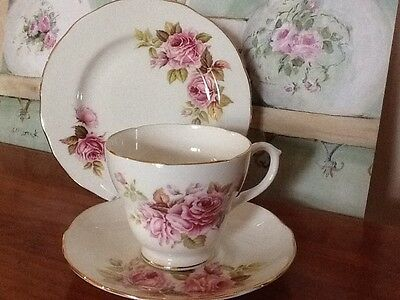 Vintage Shabby Chic Country French Provincial Duchess Trio HighTea trio England