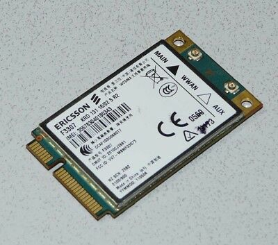 Ericsson F3307 3G HSPA/WCDMA/UMTS WWAN Wireless Card Mini PCI Express Karte