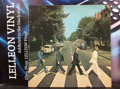 The Beatles Abbey Road LP PCS7088 YEX750-1 YEX749-2 Pop 1969 60's Apple