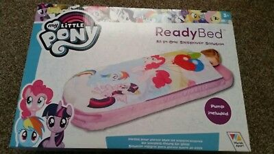 ReadyBed My Little Pony Airbed (All-in-one sleepover solution) pump included