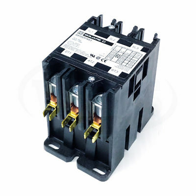 Square D 8910DPA63V09 Definite Purpose Contactor, 60FLA 75 A Res 208-240V 3-Pole