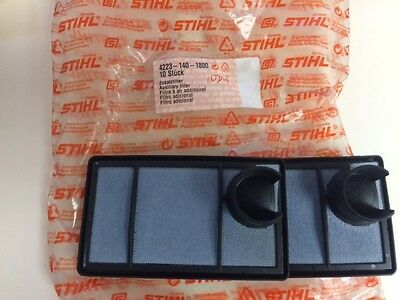 LOT OF 2 - 4223-140-1800 Stihl Auxilary Air Filter