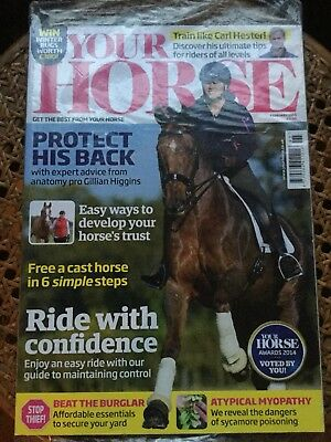 Your Horse Magazine February 2015 Unopened New Condition