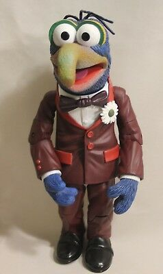 "Muppets Gonzo the Great Palisades Red Suit 10"" Jointed Figurine Jim Henson"