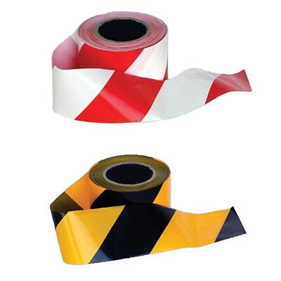 Portwest Barricade Warning Tape (Pack of 18 Rolls) Building Safety BT10