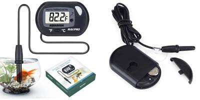 Aquarium Thermometer, RISEPRO Digital Water Thermometer For Fish Tank Aquarium