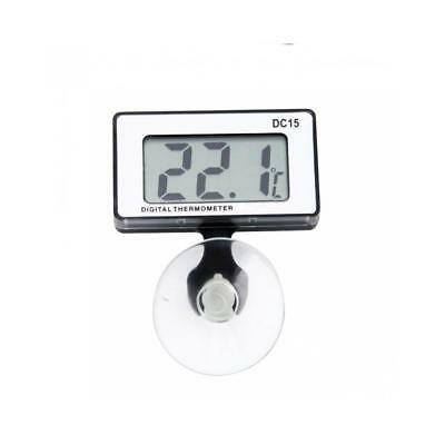 Digital LCD Fish Tank Thermometer Aquarium Marine Vivarium Submersible Underwate
