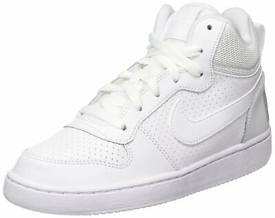 Schuhe NIKE Court Borough Mid (GS) 839977 001 BlackBlackBlack