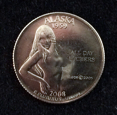 "Alaska 2008 Parody Quarter ""All Day Suckers"" *FUNNY*"