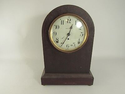 Vintage Antique Seth Thomas Mantle Clock For Parts Or Repair