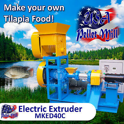 Electric Extruder for Tilapia Food - MKED40C (USA)