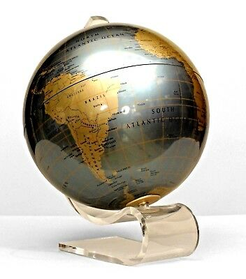 American Contemporary Metal Globe of the World