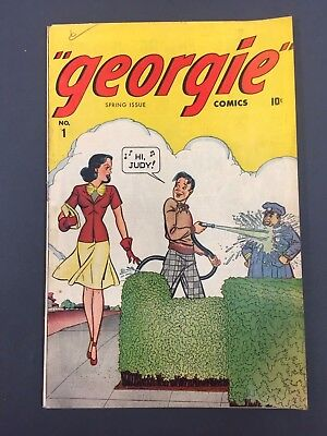 # 1 Georgie (1945) Nice Copy  - Marvel Teen Golden Age  Comic Book