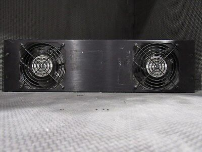 Rackmount Equipment Chiller With Ultra Quiet Dual Fans - Panel With Power Cords