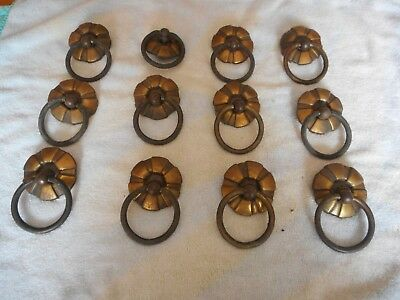 Mixed Lot 50+ Vintage Antique Furniture Pulls Knobs~Brass~Silver Tone~Porcelain