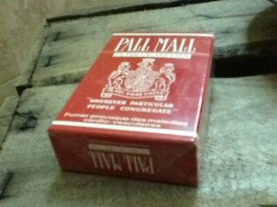 "Ancien Paquet de cigarette plein"" Pall mall @"" pour collection uniquement"