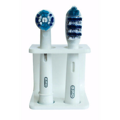 The Seemii Electric Toothbrush Head Holder, White, fits Oral B Toothbrush Heads