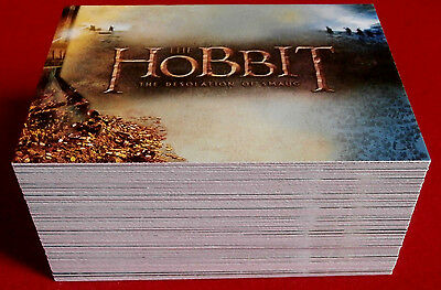 THE HOBBIT - The Desolation of Smaug - Complete Base Set (72 cards) - Cryptozoic