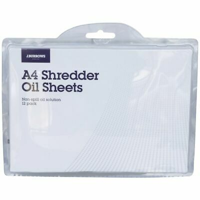 J.Burrows Shredder Oil Sheets 12 Pack