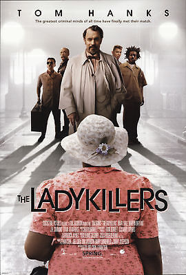 The Ladykillers 2004 27x40 Orig Movie Poster FFF-66783 Rolled Fine, Very Good