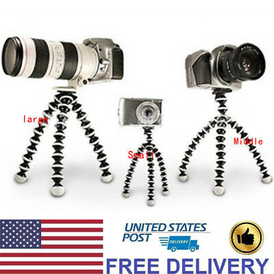 Octopus Flexible Tripod Stand Gorillapod Holder For Digital Camera/Phone/DV New