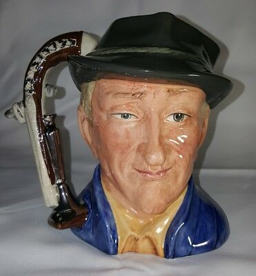 Royal Doulton The Antique Dealer  D 6807 Large Character Jug 1988 Limited