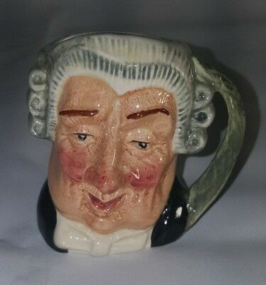 Royal Doulton Character Mug The Lawyer Mini Vintage D 6524 Limited 1958 Edition