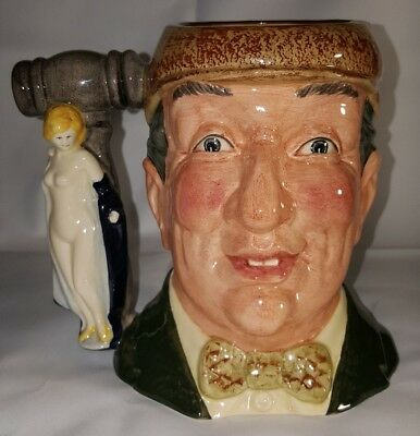 Royal Doulton Large Character Jug The Auctioneer D6838 1988 Special Edition