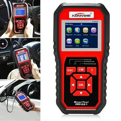 KW850 OBD2 Car Engine Diagnostic Auto OBDII Scanner Fault Code Reader Scan Tool