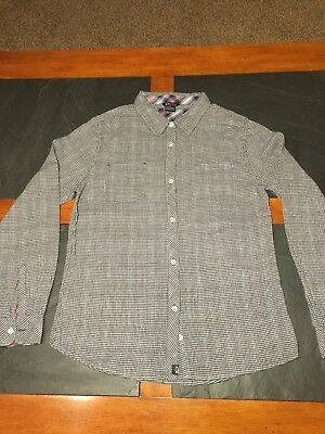 Oakley Mens Flannel Slimfit Shirt Size Large - Nice Condition!