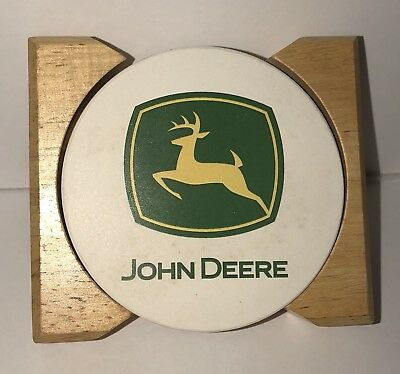 John Deere Ceramic Coasters, Collectors Item
