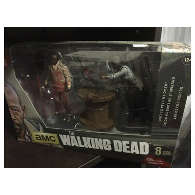 The Walking Dead Morgan With Impaled Walker And Spike Trap Deluxe Mcfarlane Toy Aufsteller & Figuren Film-fanartikel