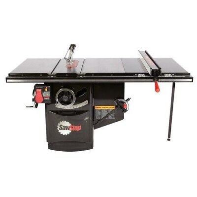 """Sawstop ICS31230-36 3HP Industrial Table Saw 36"""" T-Glide Fence"""
