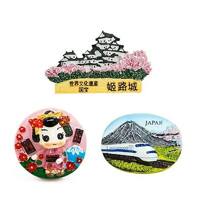 Japan - 3D Resin Fridge Magnet Tourist Travel Souvenir Memorabilia
