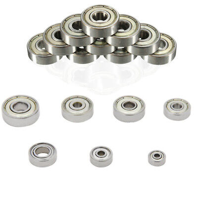 623 624 625 626 608 688 635ZZ Deep Groove Flanged Ball Bearing For 3D Printer