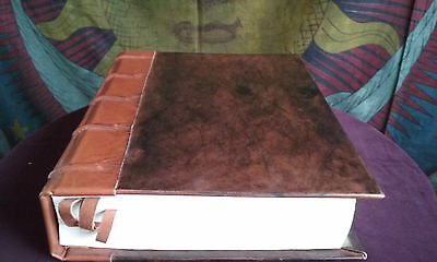 Book of Shadows Large Hand Bound Blank