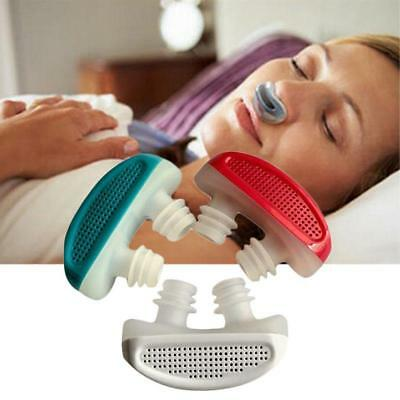 Portable Sleep Aid Anti-Snoring Stop Nose Grinding Air Clean Filter Apparatus UK