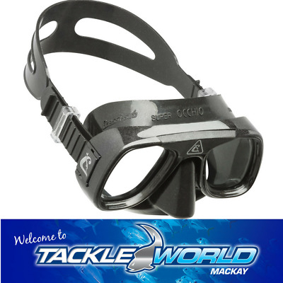 Cressi Superocchio Silicon Dive Mask Tackle World