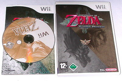 "Nintendo Wii Spiel"" The Legend Of Zelda Twilight Princess "" Erstauflage"
