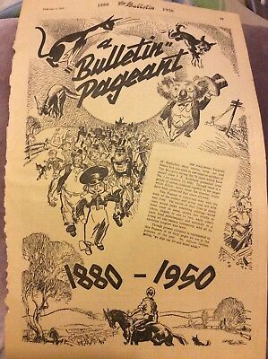 Bulletin Page - A Bulletin Pageant - 1950