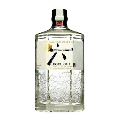 ROKU Japanese Craft Gin Japan Rum 700ml 43%