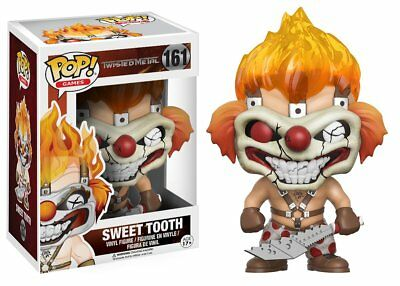 Funko POP! Games Twisted Metal 161 Sweet Tooth Vinyl Figure Figurine Collection