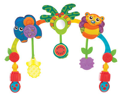 Playgro On The Go Tropical Tunes Travel Play Arch Toy
