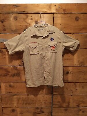 OFFICIAL BSA BOY SCOUTS OF AMERICA Uniform shirts Men's Adult LG