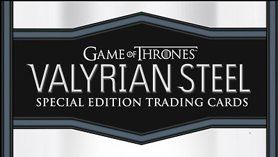 Game Of Thrones Valyrian Steel trading card Mini Master set W/BINDER
