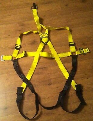 P&P FRS Rescue Mk2 2 Point Fall Arrest Harness & O/head Rescue Link 90088MK2 Red