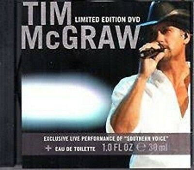 TIM MCGRAW SOUTHERN VOICE Limited Edition DVD NEW