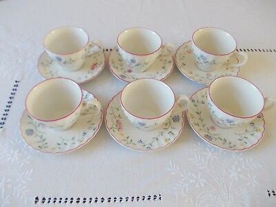 Johnson Brothers Summer Chintz 4 tea cups and saucers