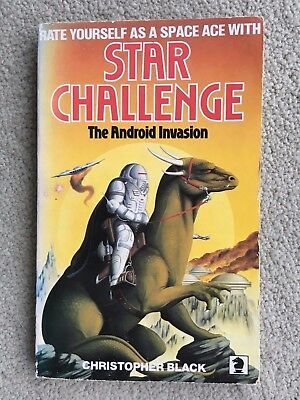 The Android Invastion, Star Challenge, Christopher Black, 1st Knight 1985 PB