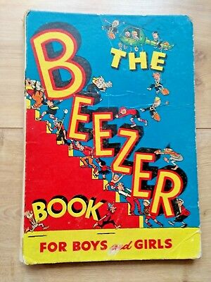 The Beezer Book Annual 1958 - First Issue - Unclipped